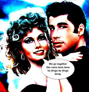 Grease the Movie We Go Together
