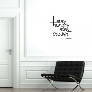 ... steve jobs quote vinyl wall quotes studio wall decal quote steve jobs