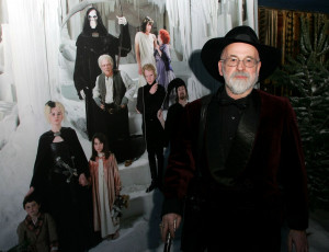 Terry Pratchett at the Hogfather Premiere. Photo: Getty Images
