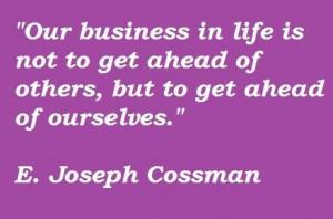 joseph cossman famous quotes 5