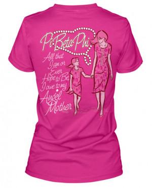 Pi Beta Phi Mother Daughter T-shirt