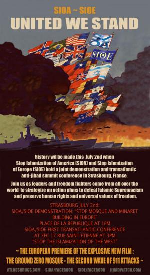 Affiche du rassemblement prévu à Strasbourg le 2 juillet