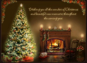 Wishing you all the wonders of Christmas and beautiful memories ...