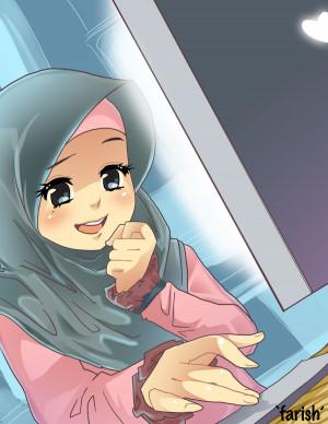 girl hijab love hijab anime deviantart more like ps man hijab a