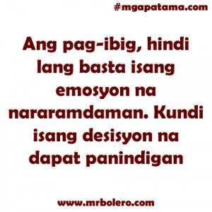 Mga Patama Quotes and Banat Tagalog Love Quotes