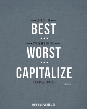 Zig Ziglar Quotes – Expect The Best