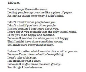 always, letter, love, magic, sadness, tonight, words