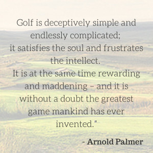 Top 10 Arnold Palmer Quotes