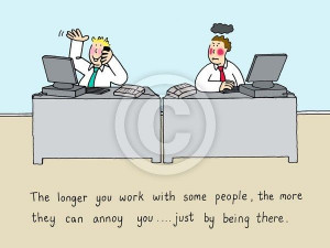 Funny Quotes About Annoying Co-Workers | Annoying Co Worker Cartoons ...
