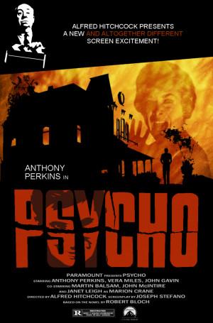 Psycho Poster Fan Art Fanpop Fanclubs