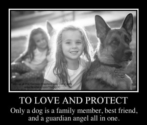 German Shepherd Dog and Child Quote: Germanshepherd, German Shepherd ...