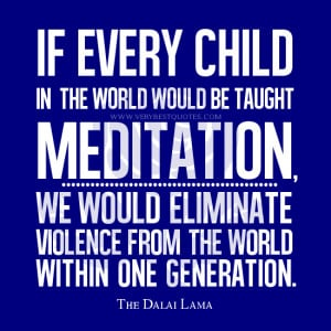 ... quotes, Meditation Quotes, Violence Quotes, The Dalai Lama Quotes