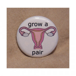 Woman Power Funny Ovaries