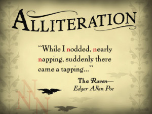 alliteration in literature