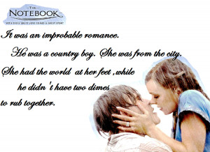 The Notebook Quote by...