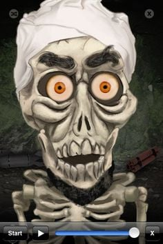 Achmed: The Dead Terrorist! So wrong, but soooo funny. (He's a puppet ...