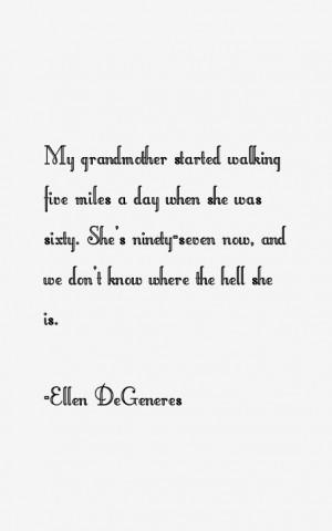 Ellen DeGeneres Quotes & Sayings