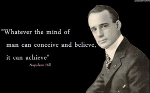Napoleon Hill - Mind Quotes Wallpaper