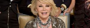 Voor Joan geen gezweet. Dat kon met haar Botox-snuitje geeneens.