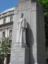 Edith Cavell - London - Statues of Historic Figures on Waymarking.com