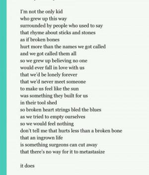 quotes anti-bully week sad shane koycazan poem