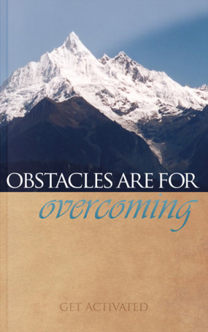 Bible Quotes On Overcoming Obstacles Quotesgram