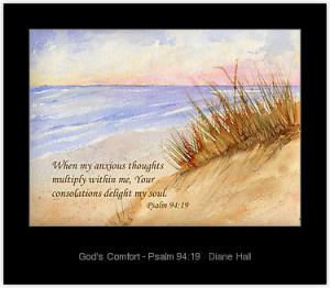 bible verses comfort