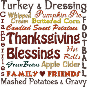 Thanksgiving Blessings Quotes Thanksgiving blessings