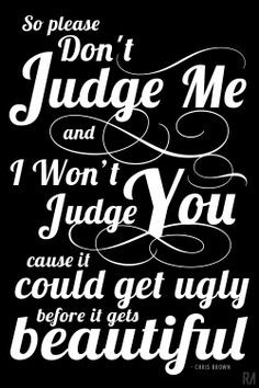 Chris Brown Lyrics Please Don't Judge Me #ChrisBrown #musicLyrics # ...