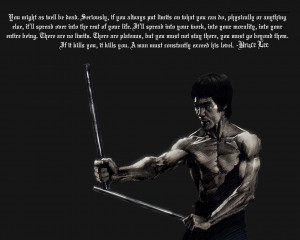 Inspiration~ bruce Lee, the legend of martial arts