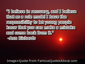 Quotes About Accountability And Mistakes | ... that as a role model I ...