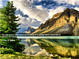 Inspirational Quote about life by Alan Watts