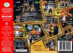 WCW/nWo Revenge Box Art - Front and Back