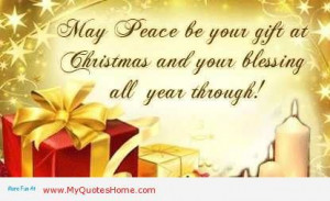 Peace and quiet pictures and quotes | is peace on christmas accept it ...