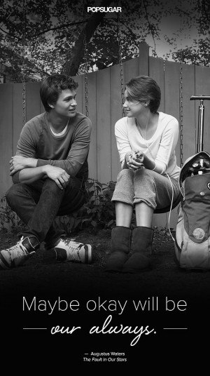 Quotes From The Fault In Our Stars Movie Best Quotes From Fault Our