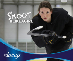 Always Like A Girl - Hilary Knight Shoot Like A Girl