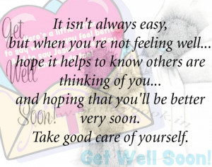 get well soon inspirational quotes