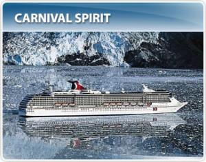 Carnival Cruises Carnival Spirit Alaska Cruise