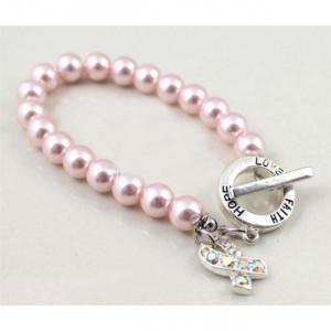 Hope Love Faith Pink Breast