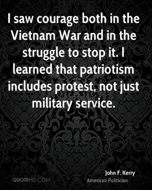 John F. Kerry Patriotism Quotes