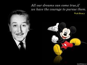 Walt Disney Quotes HD Wallpaper 5