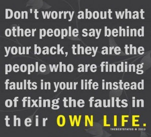 People, Beautiful Quote, Dont Worry About Other People, People Talk ...
