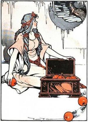 Idunn - norse-mythology Photo