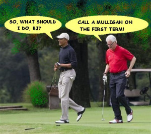 ... PLAYED GOLF TODAY WITH THE CURRENT SCOAMF WHO HOLDS THE OFFICE