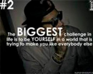 Wiz Khalifa Quotes About Being Yourself