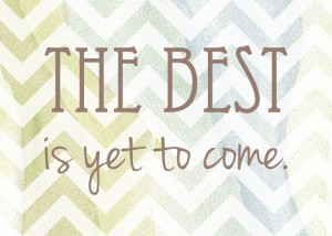 Yes it is!!!!! Wishing you all an INCREDIBLE 2013!