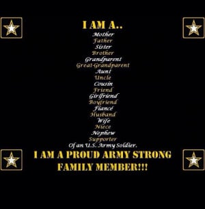 Proud Army Family