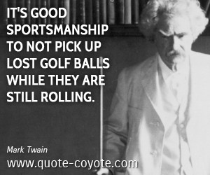 Sportsmanship quotes - Quote Coyote
