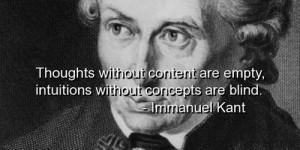 Immanuel Kant Philosophy