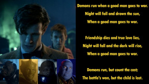 good man goes to war doctor who dr who season 6 when a good man goes ...